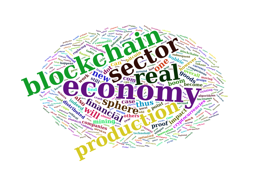 The Real Sector of the Blockchain Economy